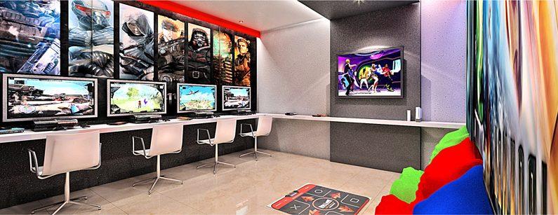 sala de games